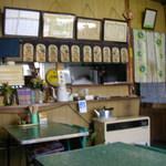 大和屋 - 厨房側です