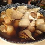 れくら - おばんざいのつぶ貝の煮付け