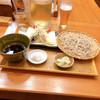 石月 - 料理写真:海老と夏野菜のおろし天せいろ