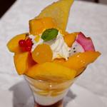 112370682 - 沖縄県産 アップルマンゴーのパフェ