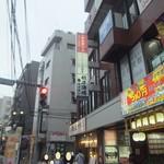 餃子酒場ナナホシ - 店舗のあるビル(2019.7.6)