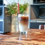 ミンガスコーヒー - ■アイスカフェオレ 650円