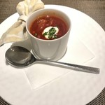 112375107 - トマト風味のボルシチスープ+350円