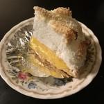 レモンパイ - 1/6 レモンパイ280円