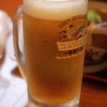 やまむら - 生ビール