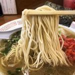 しぇからしか - 細麺(硬め)