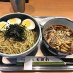Oomiyataishouken - ◉きのこ汁つけ麺 税込み850円 トッピング◉ゆで玉子 税込み60円(消費税率8%時) おそらく玉子はデフォルトで半分