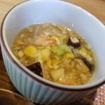 和食ながい - ホタテとハスの蒸し物