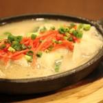 豚骨スープ餃子