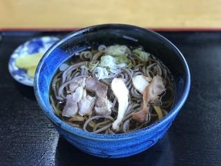 いろは 分店 - 肉そば ¥700