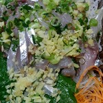 サンサンクック - 料理写真:あじのたたき299円