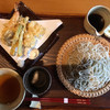 逸香 - 料理写真:鱧と海老の天せいろ(大盛り)  1,910円
