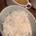 萬屋宗兵衛 - ご飯とスープ