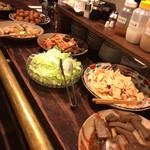 萬屋宗兵衛 - 筍やゴーヤ、普段食べれないものが色んな調理法で。
