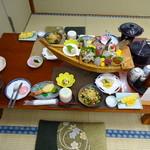民宿ふかべ - 料理写真:夕食①