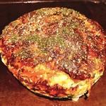 鉄板焼縁 - 肉玉ネギ焼き