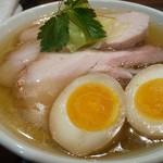 喜凛 - 料理写真:塩大盛り煮たまごチャーシュートッピング