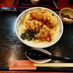 京雀 - 料理写真:祇園とり天玉子丼セット 1260円