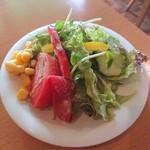 112407033 - サラダも綺麗。