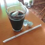 112407035 - この日はアイスティーかアイスコーヒーから選べました。