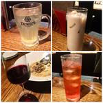 イタリアワイン食堂 OSTERIA RAKUTEN. - 飲み放題  カルーアミルクや赤ワイン  etc