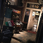 イタリアワイン食堂 OSTERIA RAKUTEN. - 石蔵の イタリアン ♪  お洒落な 入口