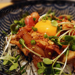 嶋うた - 料理写真:ヅケ親子丼