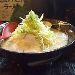 凛 - 料理写真:ねぎらーめんのねぎ富士山盛り800円