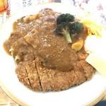スープカレー トムトムキキル - カツカレー(1,130円+税