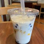 ドトールコーヒーショップ - タピオカ黒糖ミルク