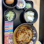 ゆで太郎 - ★とある朝食,納豆のセット 360円★