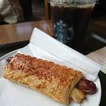 スターバックス・コーヒー - あらびきソーセージパイ