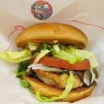 モスバーガー - 【2011-05-28】フルーツ味噌チキンバーガー(アップ)