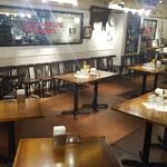 HAMBURG WORKS - 内観写真:※貸切立食パーティーのテーブルレイアウト例