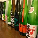 蕎麦処渥美 - ドリンク写真:過去に出した日本酒
