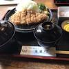 とんかつ富留川 - 料理写真:ロースカツ定食 120g 1300円。