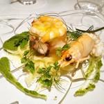 112438922 - Anti pasto カッポンマーグロ ジェノヴァ貴族の魚介のサラダ