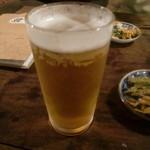 長浜の縄 - 生ビール