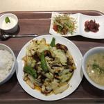 中華料理 チーナ - 定食ランチ(回鍋肉)
