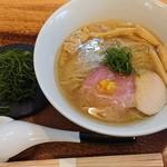 112443698 - 柚子塩らぁ麺¥800+ネギトッピング¥100