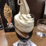 ミカドコーヒー - モカフロート