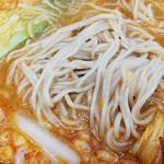 四川ラーメン - 細麺が旨い