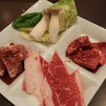 ダルマ焼肉 - 和牛ランチ」