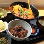 オーガニックカフェ・ラムノ - 重ね煮カレーご膳、単品1,200円也。