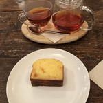 Rainy Day Bookstore & Cafe - パウンドケーキとアールグレイ