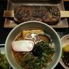 アグリステーションなぐら お母さんの店 - 料理写真:えごま五平餅と蕎麦のセット 550円