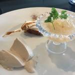 オステリア パーチェ - デザート盛り合わせ