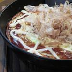 季彩 - 長芋のお好み焼