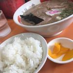Dairyuuichiban - チャーシューメン&ご飯