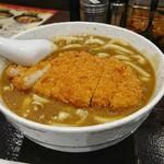 CoCo壱番屋  - カレーうどん +ロースカツ[¥989]